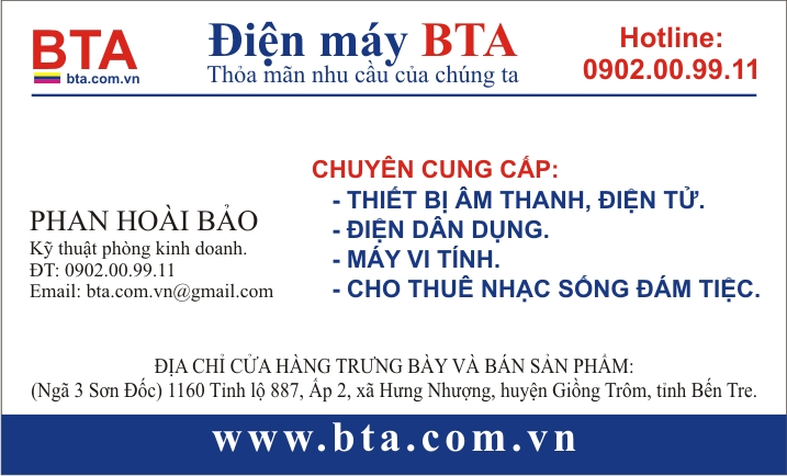 NAME CARD BTA